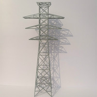 30cm Sand tray model material scene high voltage electric tower transmission tower model finished product