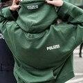 2016 hiphop streetwear urbano hombres mujeres kpop ropa kanye west caja de logotipo de gran tamaño con capucha Vetements torcido superior reversible