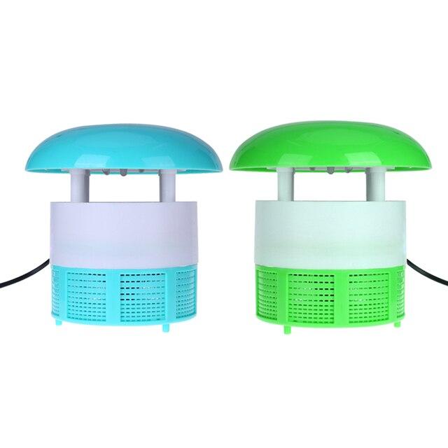 220V LED Electric Mosquito Repellent Photocatalyst Automatic Electric Catcher Trap Lamp Soft Light Detachable Protection Net