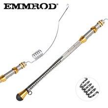 EMMROD Mini Portable Pocket 80CM stainless steel Telescopic Sea Fishing Rod ultra short Ice Raft Free Shipping