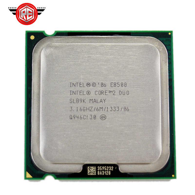 cd54af8035841 Intel Core 2 Duo E8500 Processor Dual-Core 3.16Ghz FSB1333MHz Socket 775 cpu