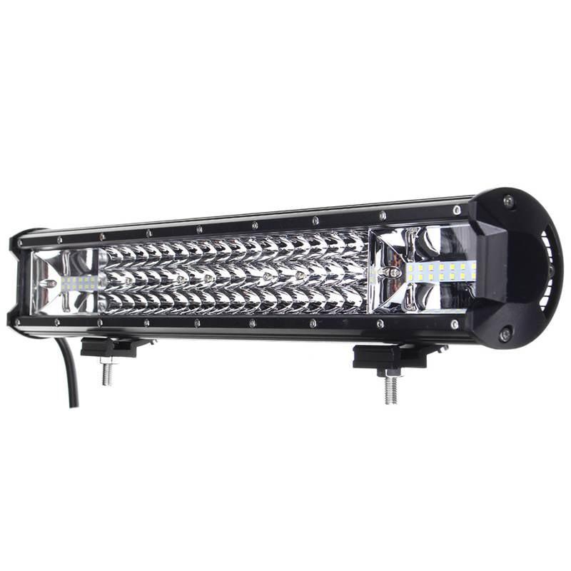 135W 20 Inch LED Work Light Bar Flood Lamp Spotlight Combo Offroad Driving Fog Lamp IP68 Car Truck Vehicle Car Light DC10-30V
