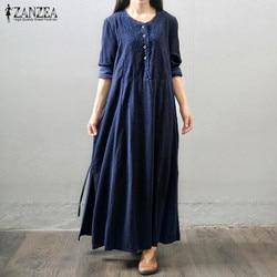 Zanzea font b oversized b font vestidos 2017 women retro long maxi dress autumn long sleeve.jpg 250x250