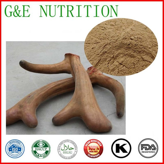 100g free shipping 100% Pure Deer antler velvet Extract hairy antler extract