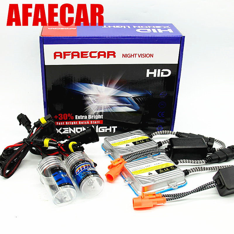 H7 55W Slim Ballast kit HID Xenon Headlight bulb 12V H1 H3 H11 h7 9005 9006