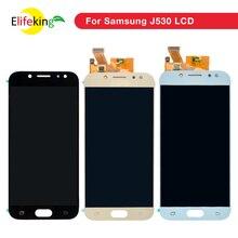 Amoled kompletny LCD do samsunga Galaxy J5 2017 J530 wyświetlacz LCD zespół ekranu dotykowego do SAMSUNG Galaxy J5 2017 J530F J530FN