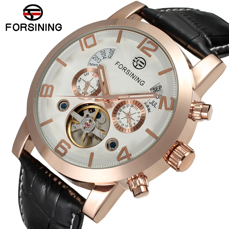 FSG165M3G1 Latest design  Automatic business fashion watch for menwith black genuine leather strap gift box  for free shippingFSG165M3G1 Latest design  Automatic business fashion watch for menwith black genuine leather strap gift box  for free shipping