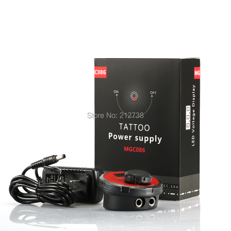 New Design Tattoo Power Supply Digital LCD Dual Mode Mini Power For Tattoo Machine Supply-B5 10 pcs high quality led screen mini tattoo power supply mini power supply tattoo power tattoo ink kit supplies