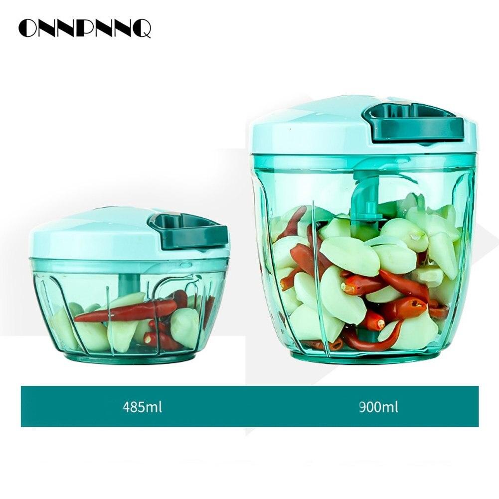 ONNPNNQ Multifunctional Hand Food Processor Fruit Vegetable Meat ...