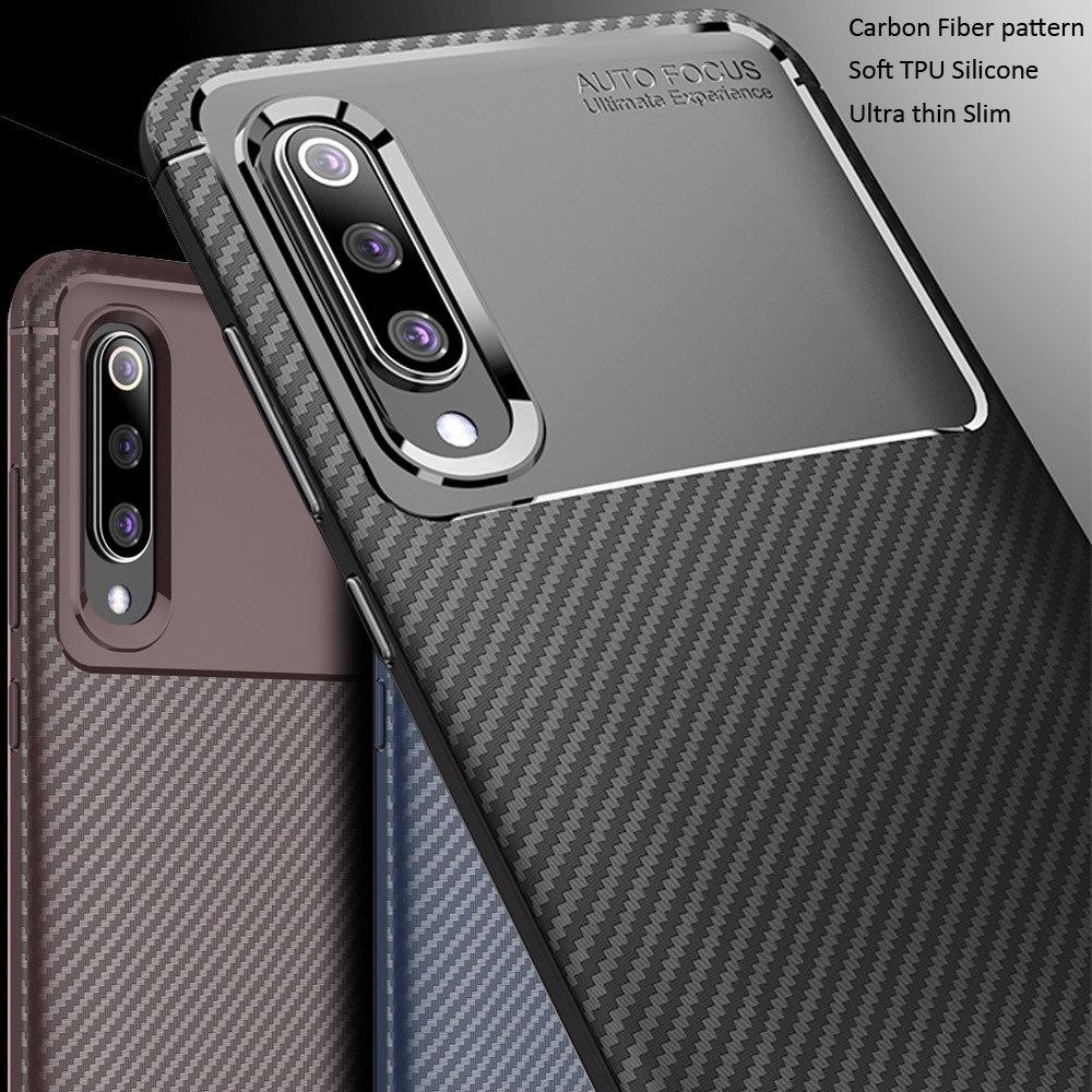 b09a7de431e Líquido Ultra delgado funda Xiaomi Mi 9 Mi9 SE funda de silicona suave  cubierta funda Xiaomi