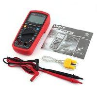 Digital Multimeter UNIT DC/AC Voltage Current Meter Handheld Ammeter Diode NCV Tester 6000 Counts Multitester No ContactUT139C