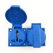 Многофункциональная промышленная безопасная розетка 10a 250v
