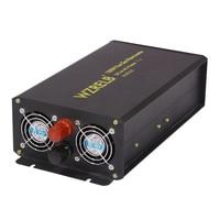 1500 W Pure Sinus Zonne-energie Thuis Auto Omvormer, DC naar AC, 12 V/24 V/48 V naar 110 V/220 V/240 V 3 Fase Frequentie omvormer 12 V 220 V