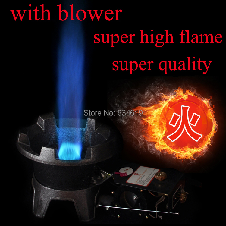 high fire outdoor gas stove cast iron high flame stove with blower camping stove fireplace