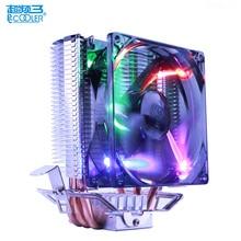 PCcooler quiet 4pin PWM CPU cooler radiator for x99 x79 Intel 775 1155 1156 1150 1151 2011 AMD AM2+/AM3/FM1/AM2/939 cooling fan