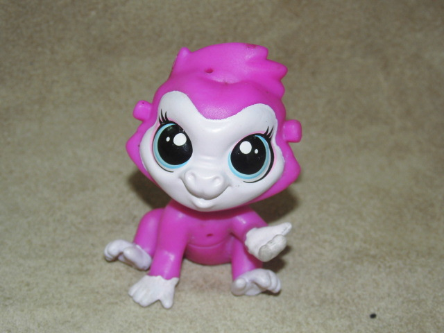 Toy Playhouse Pets-Shop Doll-Puppets Action-Animals 6cm-Pls Foreign Monkey Big-Head Trade