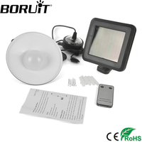 Boruit Solar Powered SMD White LED Shed Light With Remote Control Pendant Lights Hanging Lamp Ideal