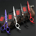 Kasho 6 Дюймов Высокое Качество Профессиональные Ножницы Парикмахерские Инструменты Парикмахерская Волос Ножницы Установить Ж Сумка Для Стрижка Салон