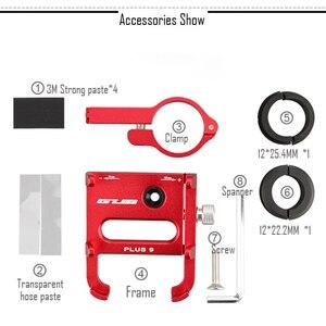 """Image 5 - GUB Plus 9 Bike Fahrrad Griff Telefon Halterung Unterstützung Fall Motorrad Lenker Für 3,5 6.2 """"Handy 360 grad rotation"""
