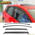 Ajuste Para 04-09 Mazda 3 5dr Hatch Window Vent Viseras Sol Guardia Deflector de Viento 4 UNIDS