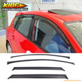 Fit For 04-09 Mazda 3 5dr Hatch Window Visors Sun Vent Guard Wind Deflector 4PCS
