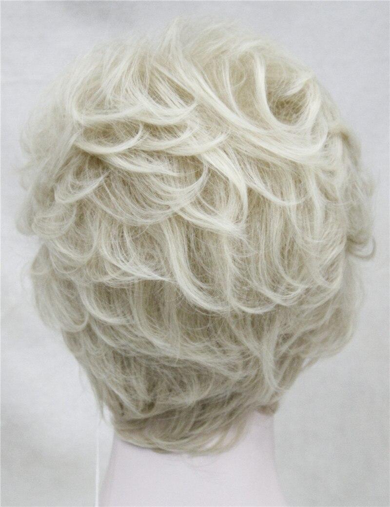 StrongBeauty Shag стиль синтетические парики короткие волнистые слоистые темно-Обурн пользовательские парики для афро-американских - Цвет: 24BT613