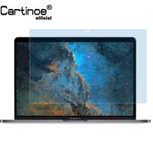 Cartinoe Laptop Screen Protector untuk Apple MacBook Pro Touch Bar A1989/A1706/A1708 Anti Blue Light Screen guard Film (2 Pcs)(China)