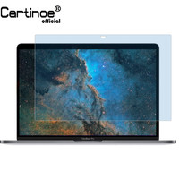 Cartinoe Screen Protector For Apple Macbook Pro 13 Touch Bar A1989 / A1706/ A1708, Anti Blue Light Lcd Screen Guard Film (2pcs)