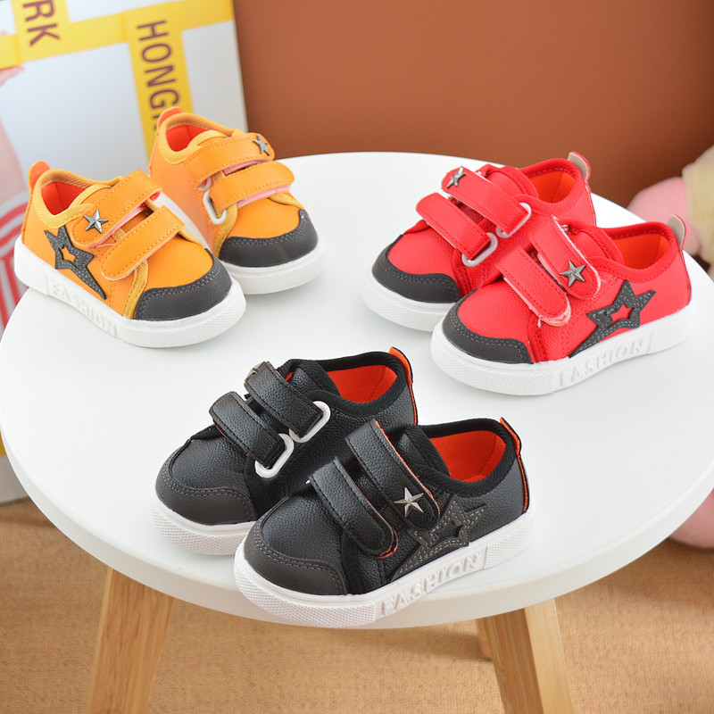 16 New Small Children Canvas Shoes For Kids Baby Boys Canvas Star Shoes Girls Flat Sneakers Low Casual School Students Shoes 11