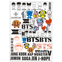 Buy Bts Tattoo And Get Free Shipping On Aliexpress Com