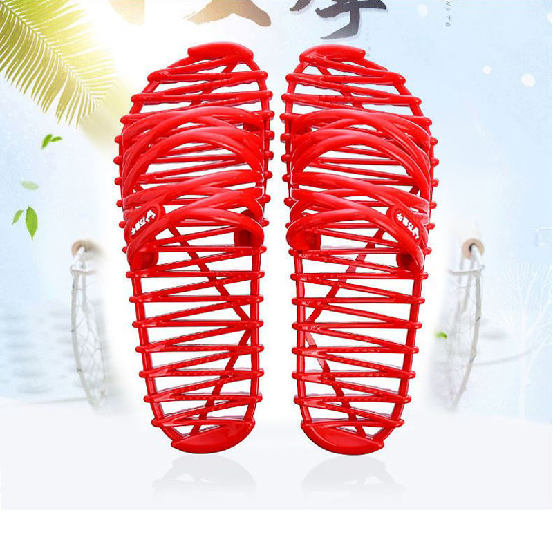Summer Massage Slippers For Shower Detox Body Foot Health Shoes Non slip Soft Home Slippers Men Women Indoor Foot Massager Bath in Massage Relaxation from Beauty Health