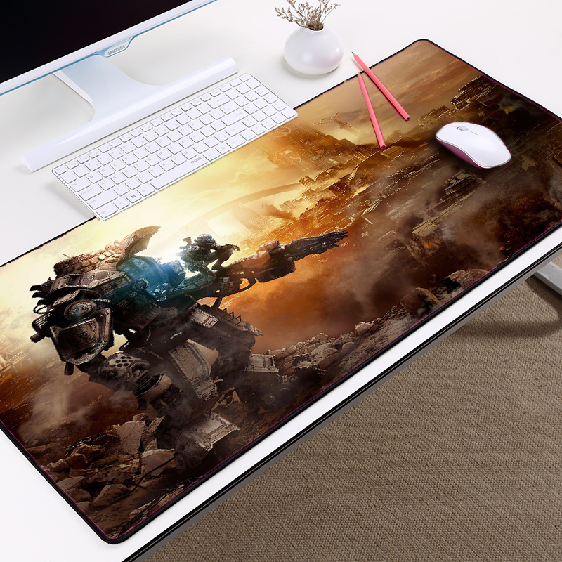 Mairuige Titanfall Jogo da Série Titanfall2 Padrão Jogo De Vídeo Fps Gaming Mousepad mousepad Tamanho Grande Pc Esteira de Tabela Pad para Csgo
