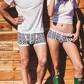 New 2016 Pink Hero Fashion Boxer Shorts Men Cotton Couples underwear Geometric Dot Plaid Comfy Designer Plain Classic Underwear