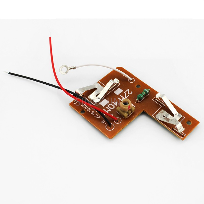2pcs 4CH RC remote control 27MHz/40Mhz circuit PCB transmitter&receiver board for toy car