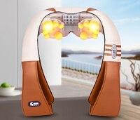 Neck Shoulder Leg Waist Full Body Household Massage For Neck Kneading Massage Cape Car Electric Cervical