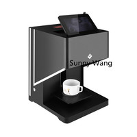 4 cups Selfies Coffee Printer Milk tea Yogurt Cake Printing Machine Art Coffee Drinks Printer Food Inkjet Printer