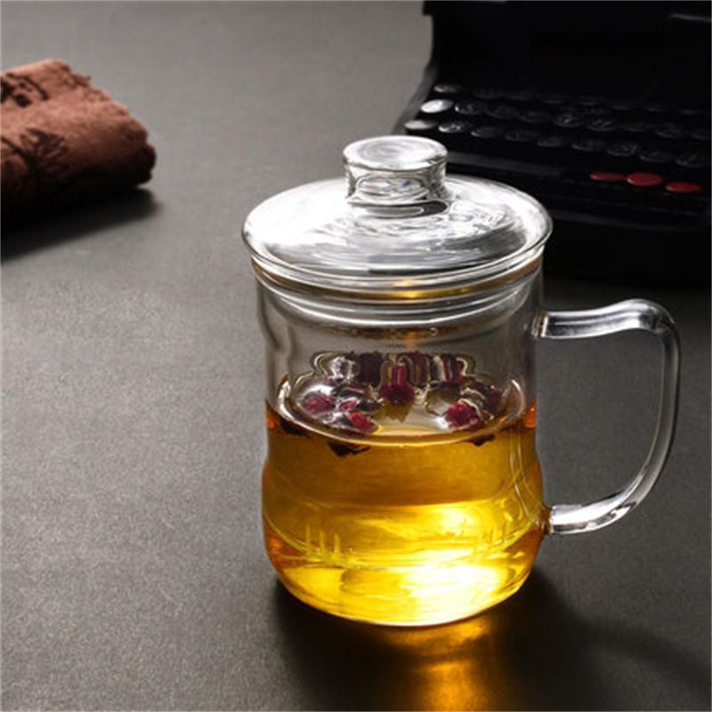 Стекло чайник воды Стекло чайник фильтр из нержавеющей стали высокая термостойкость бытовой чайник gbl-05