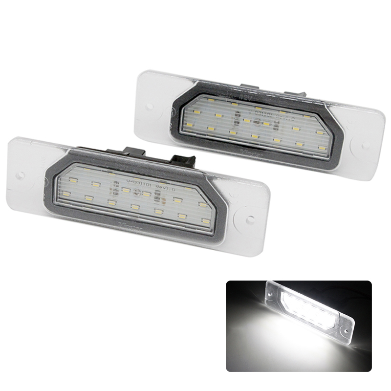 2pcs/lot 6000k White Canbus Error Free Car LED License Plate Light Lamps for Infiniti FX35/45 Q45 I30/I35 M37/M56 motorcycle tail tidy fender eliminator registration license plate holder bracket led light for ducati panigale 899 free shipping