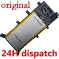 """7.5 V 37WH Original batería para X555 X555LA X555LD X555LN A555L 15.6 """"C21N1347 2ICP4/63/134 de Reemplazo baterías"""