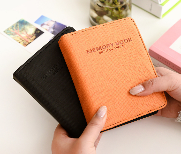 64 poches photo album instax mini album pour Fujifilm Film 7 s 8 25 50 s Cas Instantanée 8 Polaroid instax mini album Photo Album