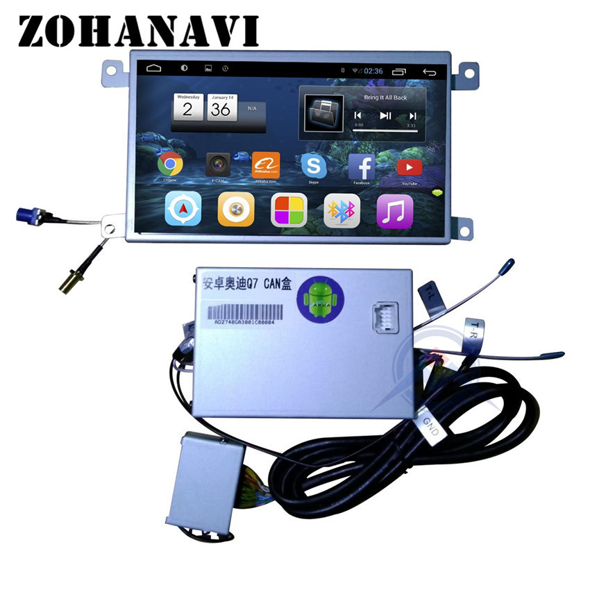 ZOHANAVI Android CAR DVD GPS Player FOR AUDI A6L 2007 2008 2009 2010 2011 AUDI Q7