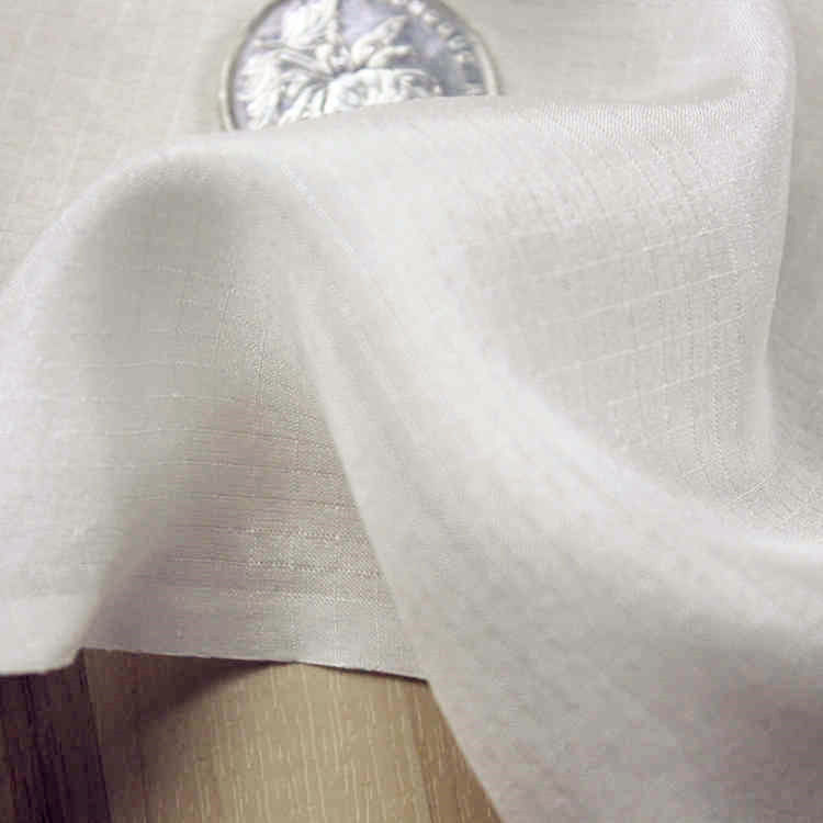 DOBBY 100% Silk Fabric Habotai,width:114cm,thickness:9mm,color:biege-white,sell By 3m,#1
