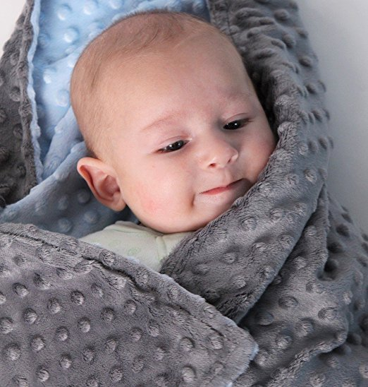 80*75cm Fleece Baby Blanket Newborn Baby Swaddle Wrap Soft Baby Bedding crib Receiving Blanket Manta Bebes minky blanket 3 color