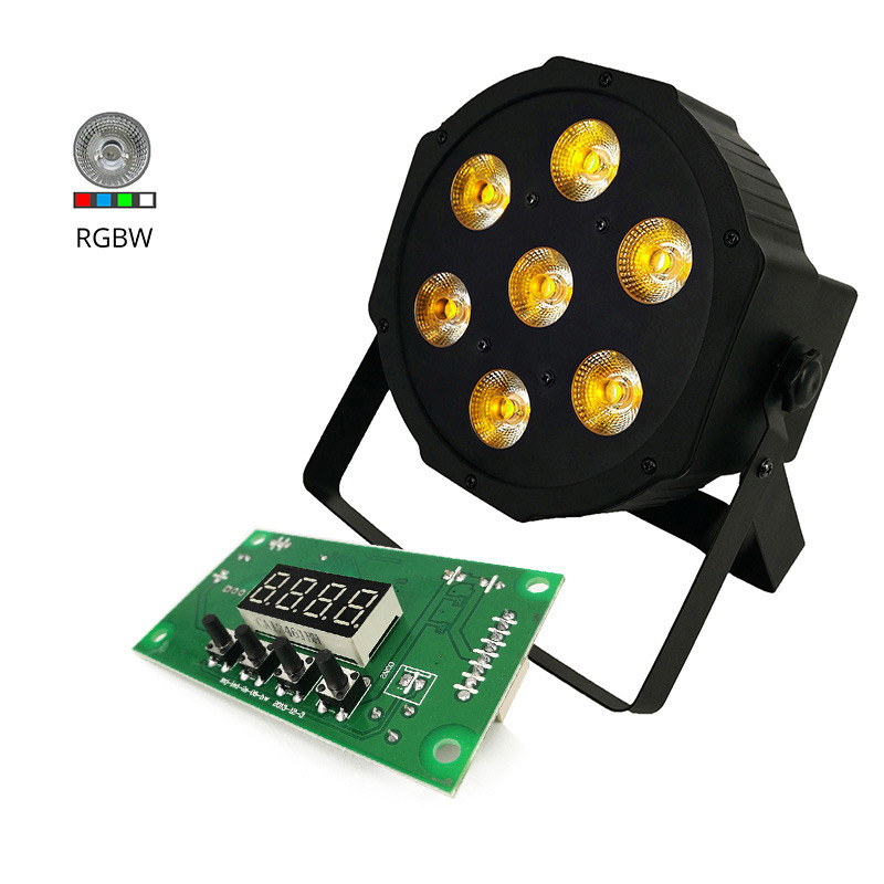 Mainboard LED Par Lights Motherboard RGBW 4In1 Stage Lights Voltage 12-24V Spare Part Professional DMX Stage Light Mainboard