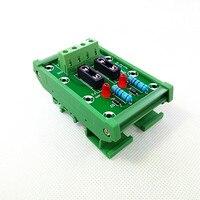 DIN Rail Mount 2 Position Fuse Module Board