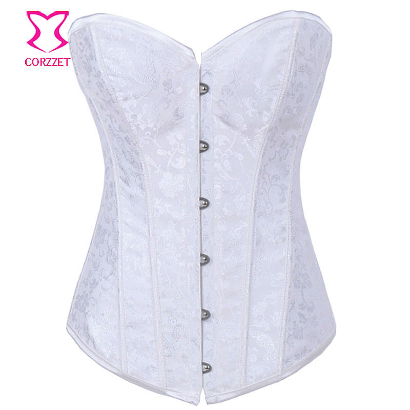 Floral Pattern Sexy Gothic   Corset   Fashion Women's Corselet Bridal   Bustier   &   Corset   Burlesque Clothing