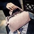 Venta caliente 2016 Mujeres Forman el Bolso Simple Otoño y el Invierno en Europa y América Boston Bolsa de Hombro Messenger Bag