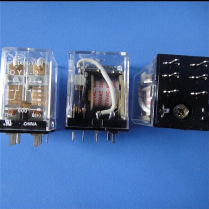 JQX-116F-1//220AA-1HC General Purpose Relay 220VAC 30A 4 Pins x 2pcs