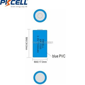 Image 4 - 5個ER17335 ER17335S er 17335 ER2/3A 3.6v Li SOCl2リチウム電池2/3A電池17*33.5ミリメートル優れCR17335 batterie