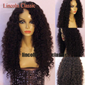 Mongolian Full Lace Human Hair Wigs Kinky Curly Full Lace Wig Glueless Curly Lace Front Wig Bleached Knots For Black Women